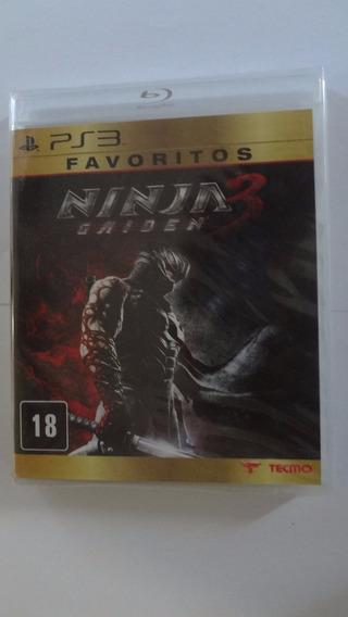 Ninja Gaiden 3 Ps3 Novo E Lacrado
