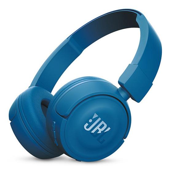 Jbl T450bt Sem Fio Bluetooth Fones De Ouvido Com Mic Azul