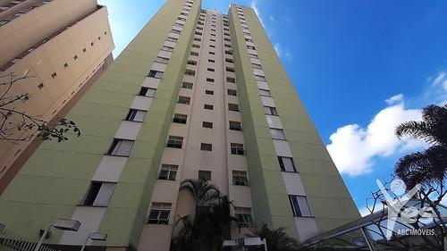 Imagem 1 de 24 de Ref.: 2013 - Apartamento Com Condomínio,02 Quartos E 01 Vaga Na Vila Valparaíso, Santo André - Sp - 2013