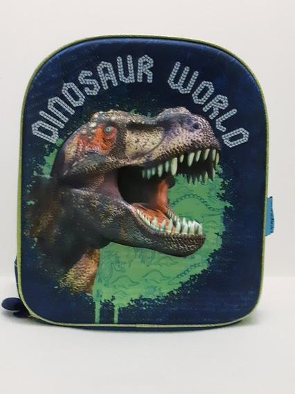 Mochila Dinosaurio 3d Kinder-primaria