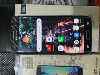 Celular Samsung Galaxy S6 Edge 32 Gb Con Detalle. Remato