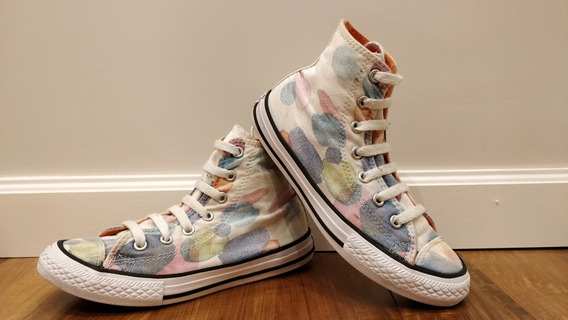 Zapatillas Converse Nena Usadas Buen Estado!!