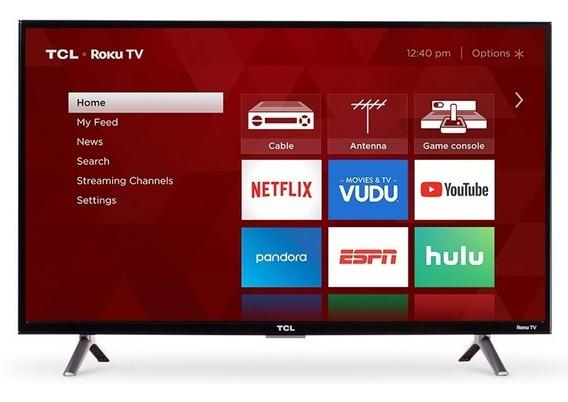 Televisor Tv Marca Tlc 32 Smart Tv Hdmi Con Roku Incluido