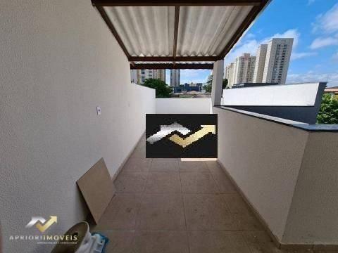 Cobertura À Venda, 104 M² Por R$ 405.000,00 - Campestre - Santo André/sp - Co0934