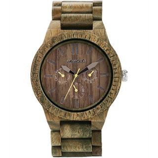 Relógio De Madeira Wewood Kappa Army - Wwka03