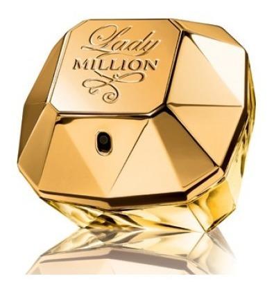 Lady Million Pacco Rabanne Edp 80ml Frete Grátis 12x S/juros