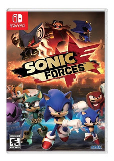 Sonic Forces Nintendo Switch (en D3 Gamers)