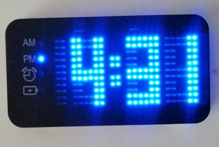Reloj Despertador De Energía Portátil