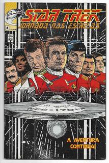 Star Trek Jornada Nas Estrelas Hq Gibi Revistas Nºs 4 E 5