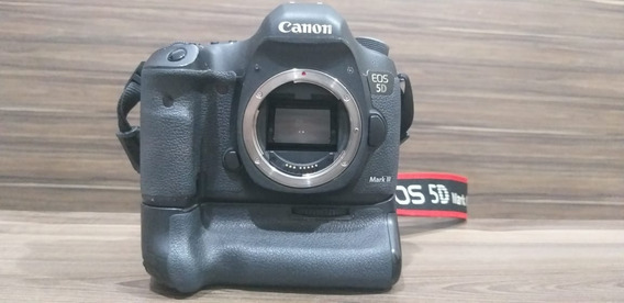 Câmera Canon 5d Mark 3 (grip Grátis)