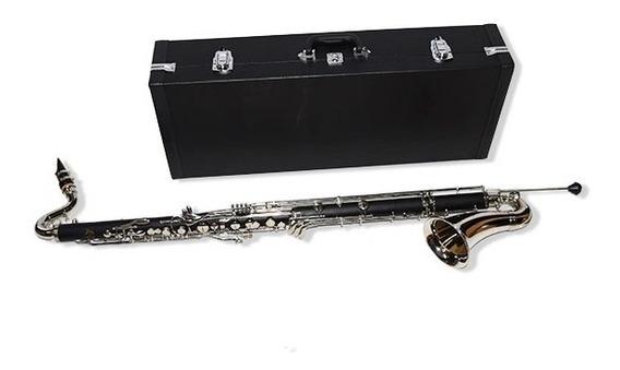 Gala Bc1200 Bb Clarinete Bajo Llave C + Estuche.