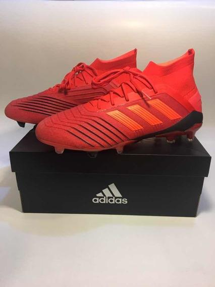 Zapatos De Fútbol Profesionales adidas Predator 19.1 Red