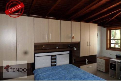 Imagem 1 de 16 de Imob02 - Casa 294 M² - Venda - 3 Dormitórios - 1 Suíte - Residencial Monte Verde - Indaiatuba/sp - Ca0321