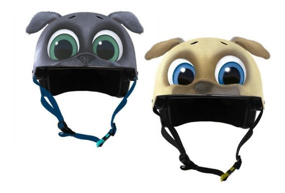 Casco De Patinaje 3d Puppy Dog Pals De Disney