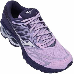 Tenis Feminino Corrida Run Wave Creation 20 Lilas/prata/roxo