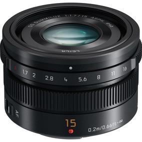 Panasonic Leica Dg Summilux 15mm F/1.7 Asph Gh5 Bmpcc4k