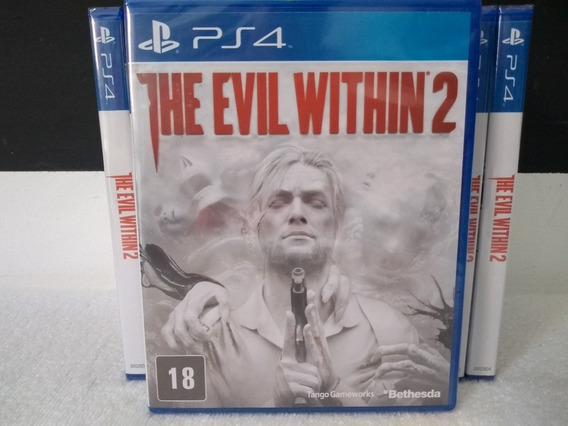 The Evil Within 2 Ps4 Mídia Física Lacrado