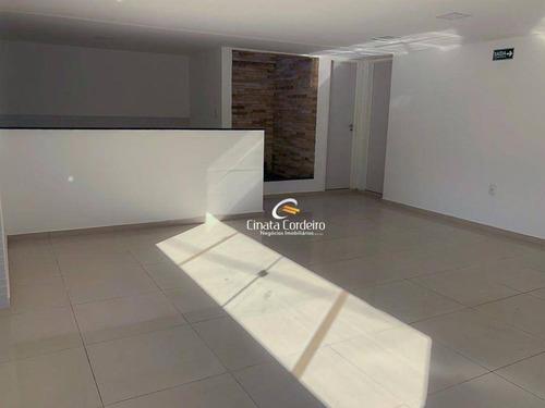 Flat Com 1 Dormitório À Venda, 34 M² Por R$ 249.900,00 - Cabo Branco - João Pessoa/pb - Fl0115