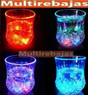 Vaso Led Automático Multicolor Rgb Con Sensor Para Fiestas
