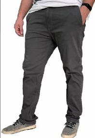 ae2011126 Calça Slim Fit Masculina - Calças Masculino Cinza escuro no ...