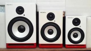Monitores D Estudio Medeli Am5 5.25pul 70w Kingdom Music 473