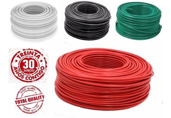 Cable Electrico Thw Calibre 12 Caja Con 100m, 4 Colores Disponibles, Hecho En México Alta Calidad Mavrik 30 Años Contigo