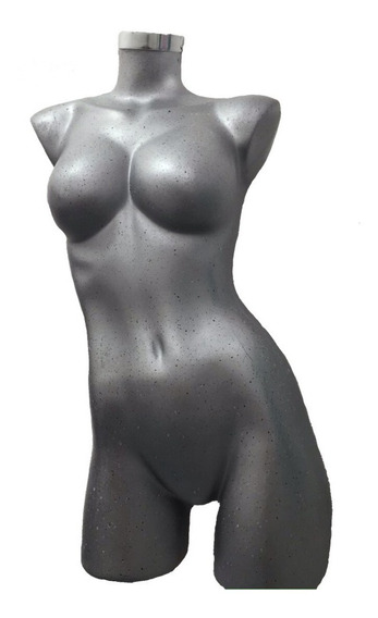 Maniquie Mujer Sexy 3/4 Fibra De Vidrio Exhibidor Ropa