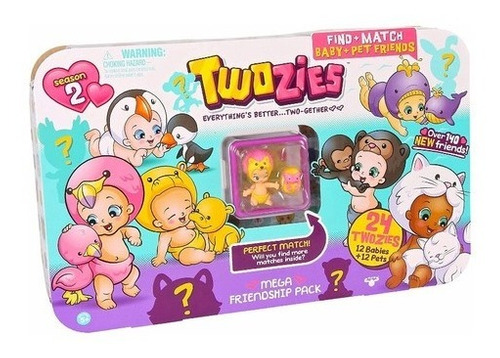 Twozies Pack 24 Figuras Mega Friendship Season 2