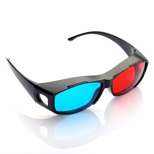 Óculos 3d Universal Azul E Vermelho Nvidia Vision - Realengo