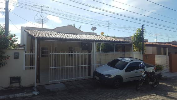 Casa De 3/4 Em Condomínio Fechado, Aceita Financiamento
