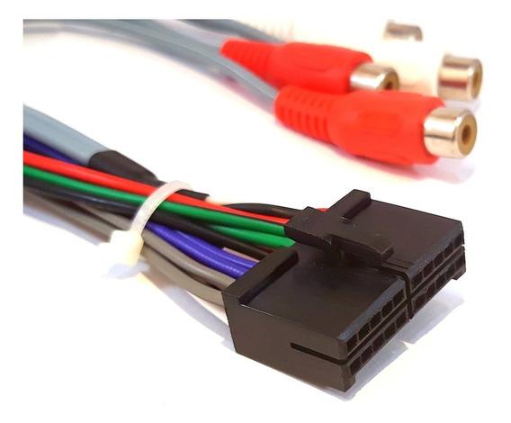 Chicote Dvd Pioneer 7380 7580 8480 Av H-buster C/ Saidas Rca