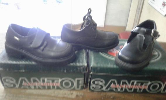 Zapatos Escolares Santorini Nuevos - Oferta !!!