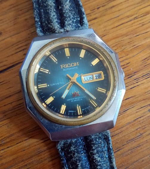 Relógio Ricoh Crystal - 21 Jewels - Automático