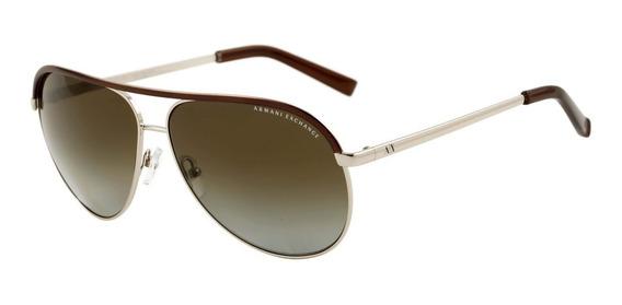 Óculos De Sol Armani Exchange Ax 2002 Polarizado
