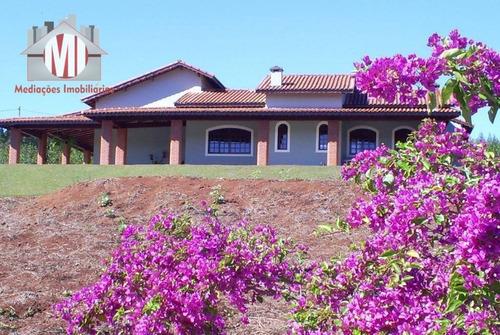Chácara Deslumbrante, Com 3 Dormitórios, Pomar, Área Gourmet, Bem Localizado,  À Venda, 7000 M² Por R$ 600.000 - Em Tuiuti, Sp - Ch0231