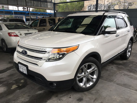 Ford Explorer Limited 2014, Piel, Q/c, Dvd, Impecable