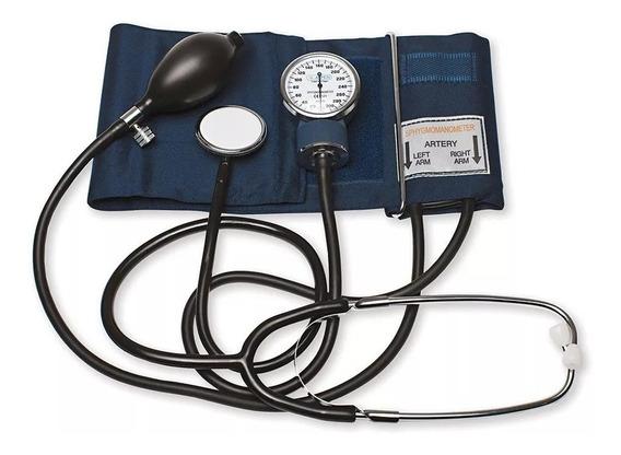 Tensiometro Aneroide Aspen As102 Inflado Manual Estetoscopio
