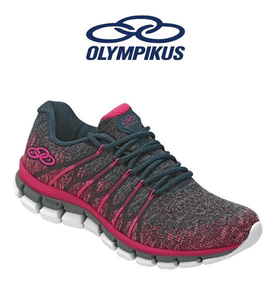 Tênis Olympikus Diffuse 2 /463 Pink Original Caminhada