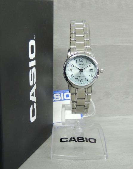 Relógio Casio Feminino - Ltp-v002d-2budf - Nf+ Garantia