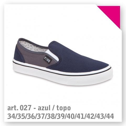 Art. 027 - Azul Topo - Talle 42
