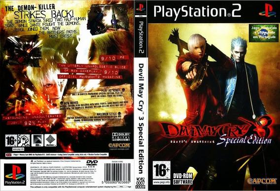 Jogo Ps2 - Devil My Cry 3 Special Edition (versão Br)