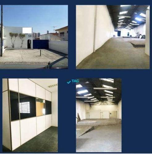 Imagem 1 de 1 de Galpão, 680 M² - Venda Por R$ 2.700.000 Ou Aluguel Por R$ 12.000/mês - Vila Prudente (zona Leste) - São Paulo/sp - Ga0062