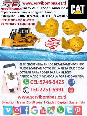 Bomba De Agua Caterpillar D6 Dozer D333b Guatemala
