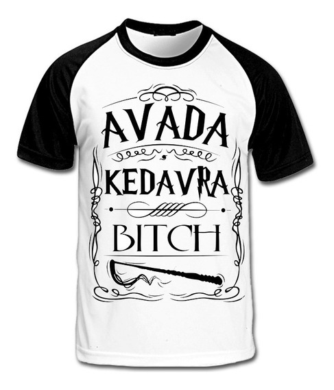 Camiseta Harry Potter Avada Kedavra