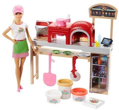 Barbie Cozinhando Pizzaiola Fhr09 - Mattel