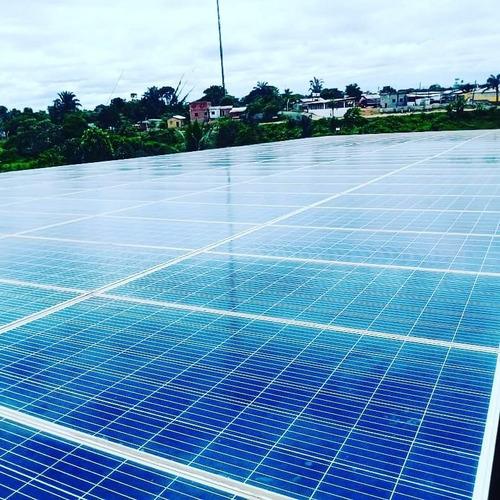 Imagem 1 de 3 de Kit De Energia Solar Paineis 450wp E Painel De Comandos