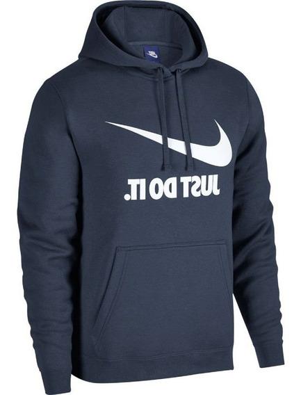 Moletom Nike Hoodie Masculino Azul