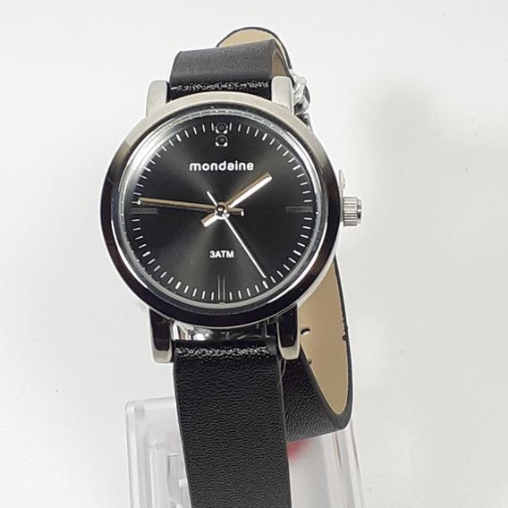 Relógio Feminino Mondaine Cromado 76644l0 Pulseira Bracelete