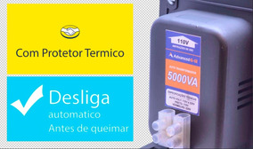 Transformado 110/220v 5000 Para Ar Condiconado Etc