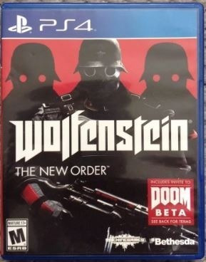 Wolfstein The New Order Ps4 Midia Fisica